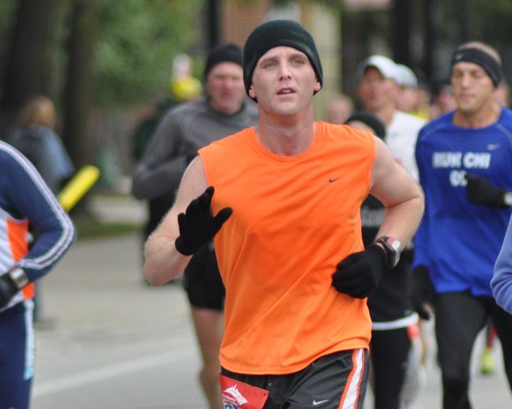 Ryan Glick Chicago Marathon