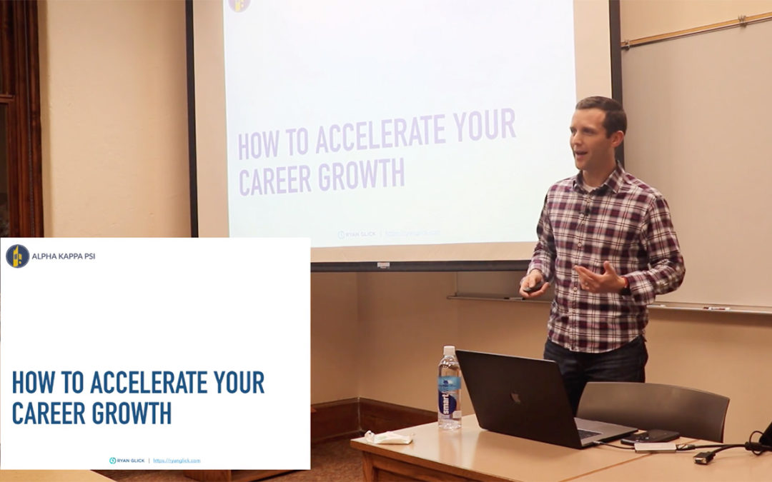 VIDEO: 7 Steps To Accelerate Your Career Growth