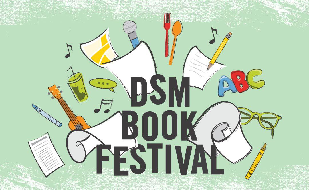 2021 Des Moines Book Festival – Festival Author